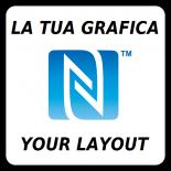 ADESIVO NFC VCARD - PERSONALIZZATO
